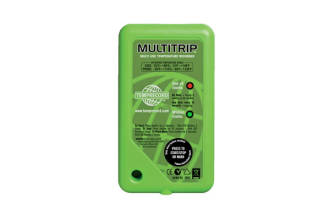Green Multitrip Temprecord 3m Lead