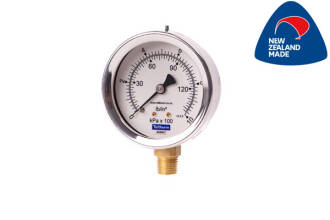 63mm SS Case Bottom Entry Pressure Gauge