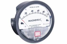 Dual Scale Magnehelic DP Gauge