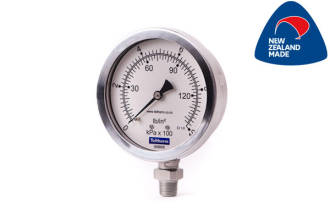 100mm all SS Bottom Entry Pressure Gauge