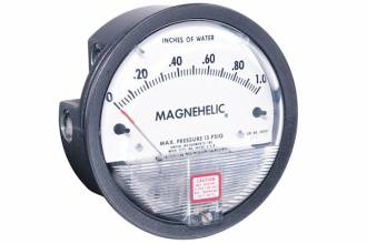 Pa Single Scale Magnehelic DP Gauge