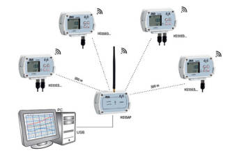 Delta Ohm Wireless Datalogging System